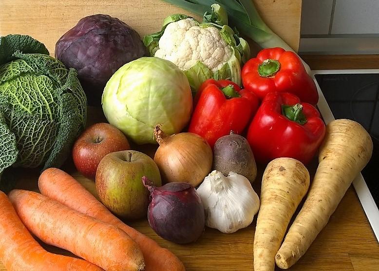 Vegane Zutaten Olivea